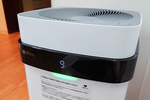 高精度空気清浄機